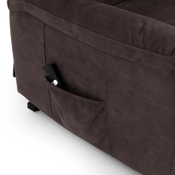 Saitama Modern Fabric Riser Recliner