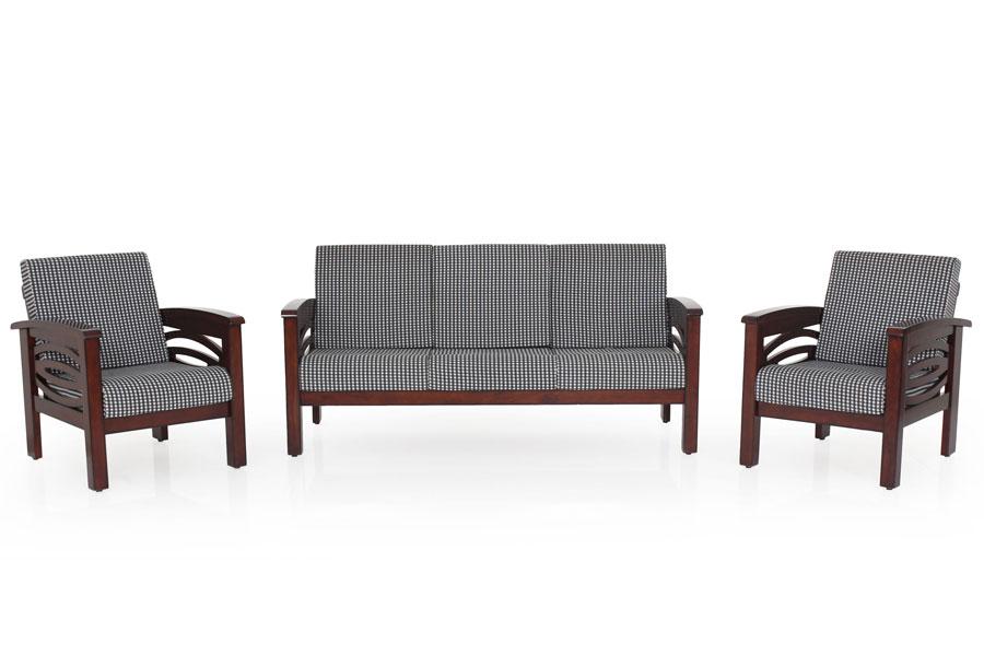 Superb Emerald Wooden Sofa 3 1 1 Set Download Free Architecture Designs Photstoregrimeyleaguecom
